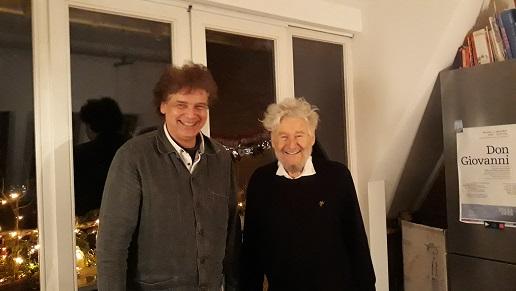 Martin Fischer-Dieskau und Achim Freyer