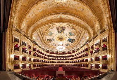 Lviv Opernsaal